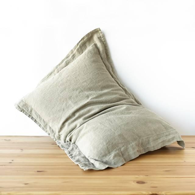 LINEN PILLOWCASE Linen pillow sham oxford