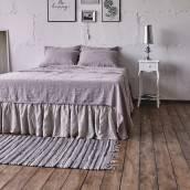 PINK ASH Pure Linen pillowcase