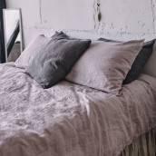 PINK ASH 100 Percent Flax Linen pillowcase
