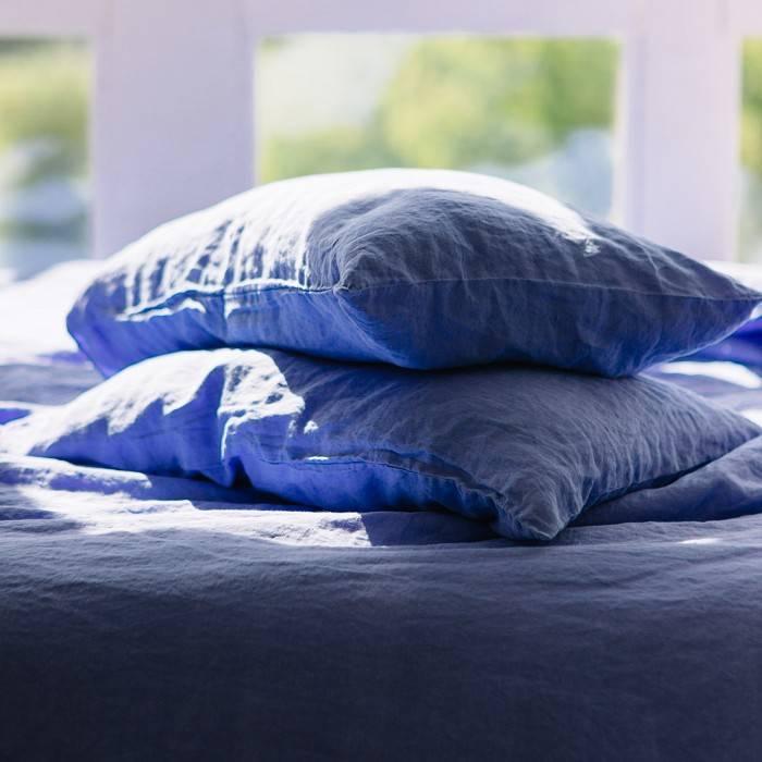 FRENCH BLUE Linen pillowcase