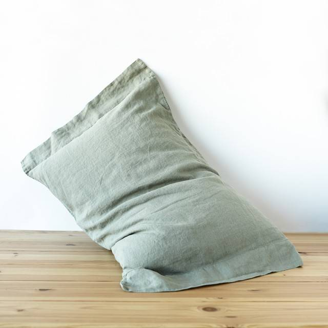LINEN PILLOWCASE half-oxford