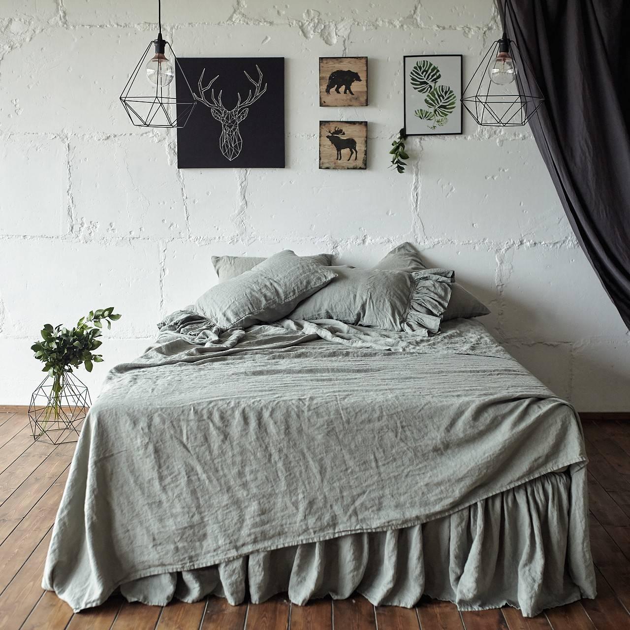 Linen flat sheet