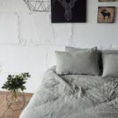 Linen pillowcase in beautiful SAGE GREEN