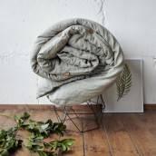 Linen duvet cover in beautiful SAGE GREEN