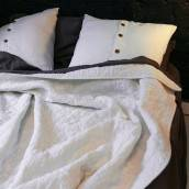 Linen comforter in beautiful ANTIQUE WHITE