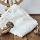 ANTIQUE WHITE Pure Linen sheet set slip