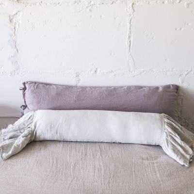 LINEN BOLSTER PILLOW SHAM