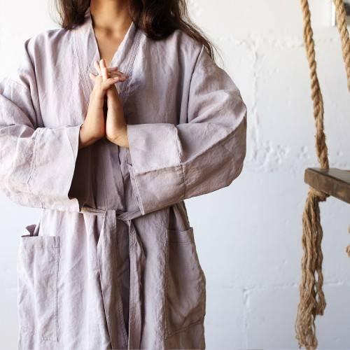 Linen robes
