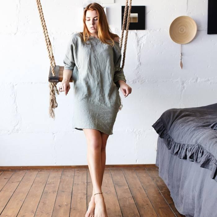 LINEN DRESS tunic