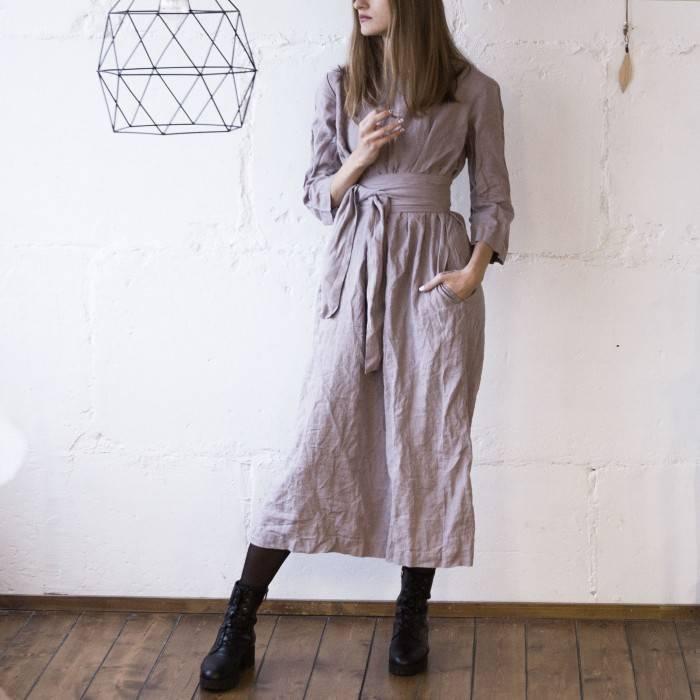 PINK ASH Linen dress