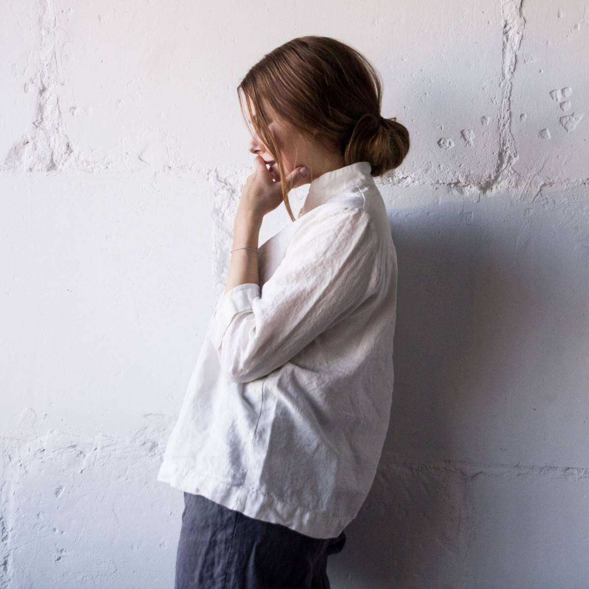 White linen shirt womens quide