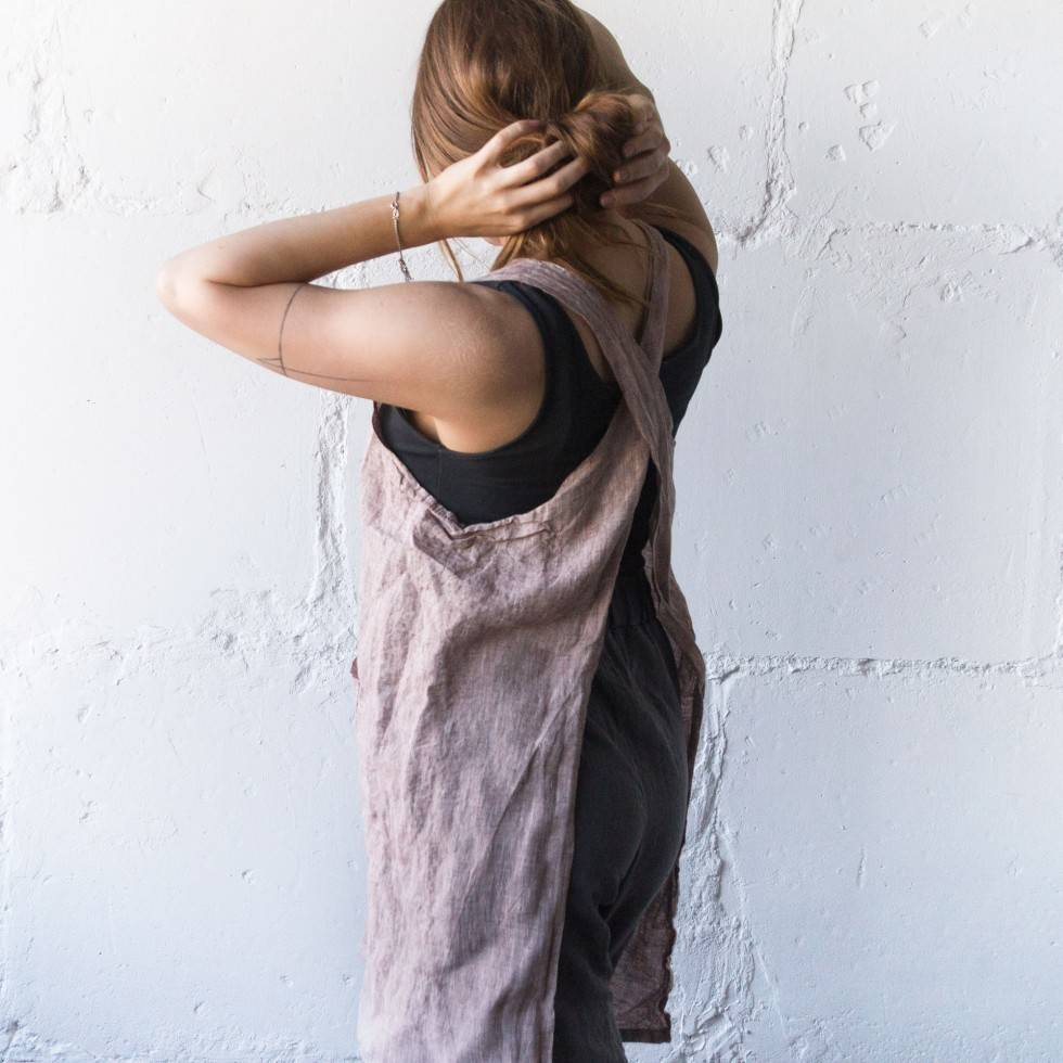 Linen apron obsession