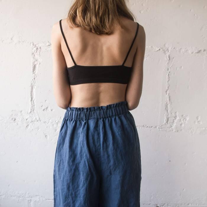 LINEN PANTS culottes