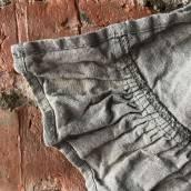 FLAX GRAY Pure Linen napkin