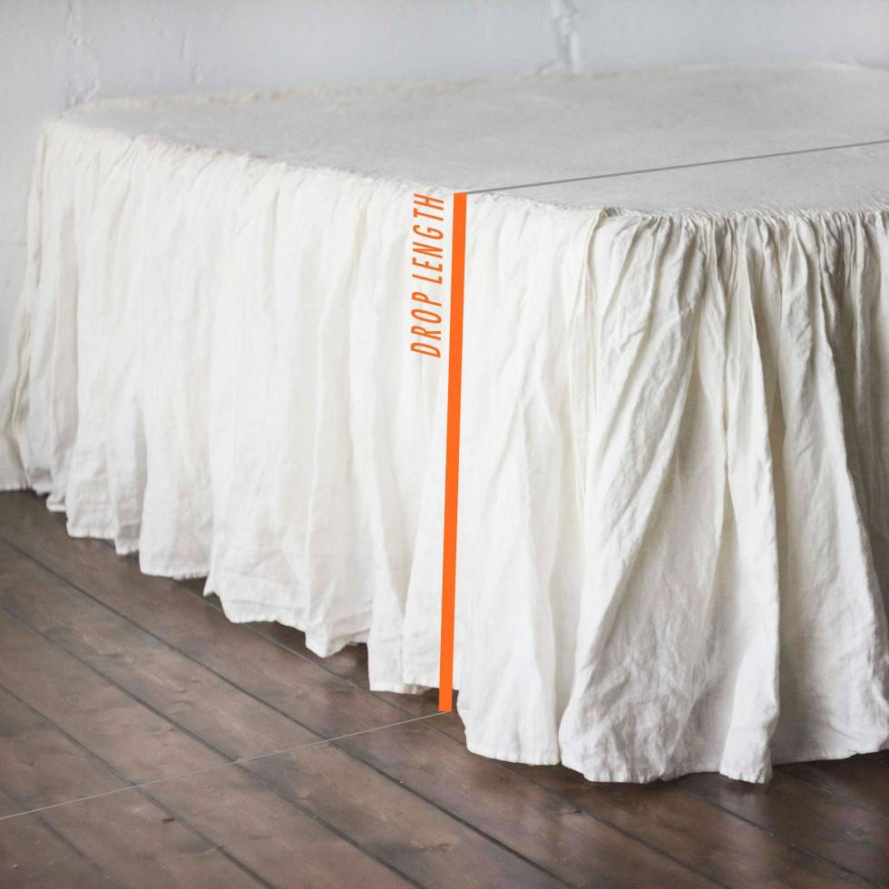 Bed skirt - what size do you need?