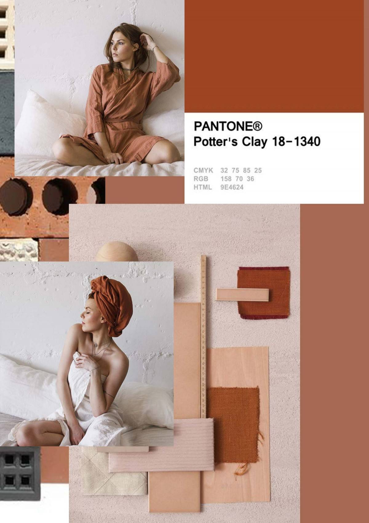PANTONE 2019 - clay