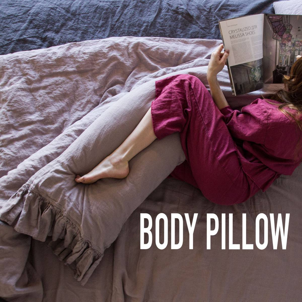Body pillow case for perfect body